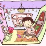 子ども部屋の女の子